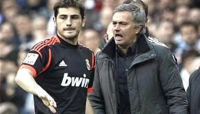 Mourinho and Casillas